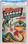 Silver Age (1956-1969):Superhero, The Brave and the Bold #28 Justice League of America - SavannahPedigree (DC, 1960) CGC VF 8.0 Cream to off-white pages....