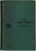 Books:Science Fiction & Fantasy, Henry James. The Real Thing and Other Tales. New York and London: Macmillan and Co., 1893. ...
