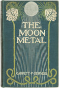 Books:Science Fiction & Fantasy, Garrett P[utman] Serviss. The Moon Metal. New York and London: Harper & Brothers Publishers, 1900. ...