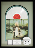 Music Memorabilia:Awards, Soul Asylum Grave Dancers Union RIAA Platinum Album Award(Columbia CT 48898, 1992)....