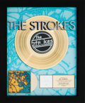 Music Memorabilia:Awards, The Strokes Is This It RIAA Gold Record Award (RCA 0786368045-2, 2001). ...
