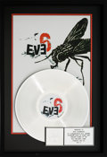 Music Memorabilia:Awards, Eve 6 RIAA Platinum Album Award (RCA BG2-67617, 1998)....