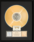 Music Memorabilia:Awards, Sinead O'Connor The Lion and the Cobra RIAA Gold RecordAward (Chrysalis BFV 41612, 1987)....