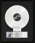Music Memorabilia:Awards, Pink Floyd Wish You Were Here RIAA Platinum Album Award (Columbia AL 33453, 1975). ...