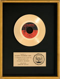 "Music Memorabilia:Awards, ABBA ""Dancing Queen"" RIAA Gold Record Award (Atlantic 45-3372,1976)...."