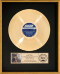 Music Memorabilia:Awards, Rolling Stones Big Hits (High Tide and Green Grass) RIAAGold Record Award Presented to Brian Jones (London NPS-1,...