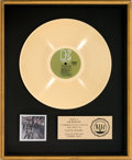 Music Memorabilia:Awards, Doors Strange Days RIAA Gold Record Award (ElektraEKS-74014, 1967)....