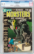 Bronze Age (1970-1979):Horror, DC Special #11 Beware... The Monsters (DC, 1971) CGC NM- 9.2 Whitepages....