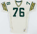 Football Collectibles:Uniforms, 1987-88 Alphonso Carreker Game Worn Green Bay Packers Jersey.. ...