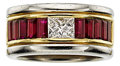Estate Jewelry:Rings, Diamond, Ruby, Platinum, Gold Ring. ...