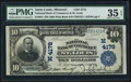 National Bank Notes:Missouri, Saint Louis, MO - $10 1902 Plain Back Fr. 627 The NB of Commerce Ch. # (M)4178. ...