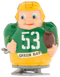 Football Collectibles:Others, 1960's Green Bay Packers Japanese Windup Ramp Walker....