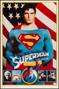 """Movie Posters:Action, Superman the Movie (Thought Factory, 1978). Commercial Posters (4)(23"""" X 36""""). Action.. ... (Total: 4 Items)"""