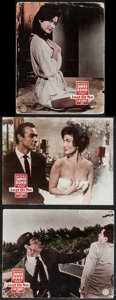 """Movie Posters:James Bond, Dr. No & Other Lot (United Artists, 1962). German Lobby Cards(6) (approx. 9"""" X 11.5"""") & Trimmed German Lobby Card (8.5"""" X1... (Total: 7 Items)"""