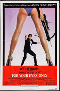 "Movie Posters:James Bond, For Your Eyes Only (United Artists, 1981). One Sheet (27"" X 41"").James Bond.. ..."