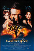 "Movie Posters:James Bond, GoldenEye (United Artists, 1995). One Sheet (27"" X 41"") & VideoPoster (27"" X 40""). James Bond.. ... (Total: 2 Items)"