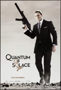"Movie Posters:James Bond, Quantum of Solace (MGM, 2008). One Sheet (26.75"" X 39.75"") SS Advance. James Bond.. ..."