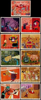"""1001 Arabian Nights (Columbia, 1959). British Front of House Color Photos (11) & Photos (13) (8"""" X 10""""..."""