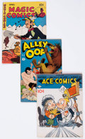 Golden Age (1938-1955):Miscellaneous, Comic Books - Assorted Golden Age Comics Group of 38 (Various Publishers, 1930s-50s) Condition: Average VG/FN except as noted.... (Total: 31 Comic Books)