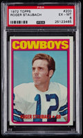 Football Cards:Singles (1970-Now), 1972 Topps Roger Staubach #200 PSA EX-MT 6....