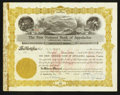 National Bank Notes:Virginia, Appalachia, VA - 62 1/2 Shares Stock Certificate The First NB Ch. #9379. ...