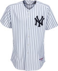 Baseball Collectibles:Uniforms, 2008 Bobby Murcer New York Yankees Old-Timers' Day PresentationJersey from The Bobby Murcer Collection. ...
