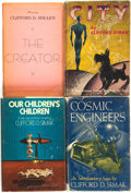 Books:Science Fiction & Fantasy, Clifford D. Simak. Group of Four Titles. Various publishers and dates.... (Total: 4 Items)