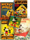 Books:Children's Books, [Walt Disney]. Group of Five Mickey Mouse Titles. Variouspublishers and dates.... (Total: 5 Items)