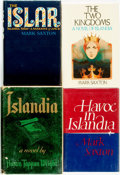 Books:Science Fiction & Fantasy, [Mark Saxton and Austin Tappan Wright]. Four Titles Related to Islandia. Various publishers and dates.... (Total: 4 Items)