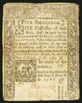 Colonial Notes:Connecticut, Connecticut June 1, 1780 5s Fine.. ...
