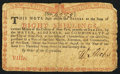 Colonial Notes:New York, New York August 2, 1775 (Water Works) 8s Very Good.. ...