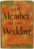 Books:Literature 1900-up, Carson McCullers. The Member of the Wedding. Boston: Houghton Mifflin Company, [1946]....