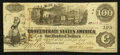Confederate Notes:1862 Issues, T40 $100 1862 PF-2.. ...