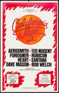 "Movie Posters:Rock and Roll, California Jam II (California Jam, Inc., 1978). Concert Poster (14""X 22""). Rock and Roll.. ..."
