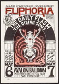 "Movie Posters:Rock and Roll, The Daily Flash at Avalon Ballroom (The Family Dog, 1966). 2ndPrinting Poster (14"" X 20""). Rock and Roll.. ..."