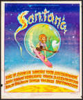 "Movie Posters:Rock and Roll, Santana at Avalon Ballroom (Sound Proof Productions, 1969). ConcertPoster (14"" X 17""). Rock and Roll.. ..."