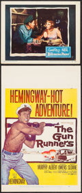 """Movie Posters:Adventure, The Gun Runners & Other Lot (United Artists, 1958). Window Card(14"""" X 22""""), Insert (14"""" X 36""""), Lobby Card (11"""" X 14""""), Unc...(Total: 4 Items)"""