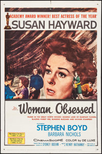 "Woman Obsessed & Others Lot (20th Century Fox, 1959). One Sheets (3) (27"" X 41""). Romance. ... (Total:..."