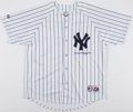 Baseball Collectibles:Uniforms, Phil Rizzuto Signed New York Yankees Jersey....