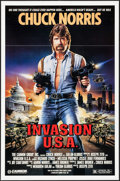 "Movie Posters:Action, Invasion U.S.A. & Other Lot (Cannon, 1985). One Sheets (2) (27""X 41""). Action.. ... (Total: 2 Items)"