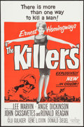 "Movie Posters:Crime, The Killers (Universal, 1964). One Sheet (27"" X 41"") and Uncut Pressbook (12 Pages, 12"" X 18""). Crime.. ... (Total: 2 Items)"