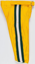 Football Collectibles:Uniforms, 1994 Green Bay Packers Game Worn Pants....