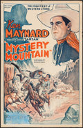 """Movie Posters:Serial, Mystery Mountain (Mascot, 1934). One Sheet (27"""" X 41""""). Serial.. ..."""