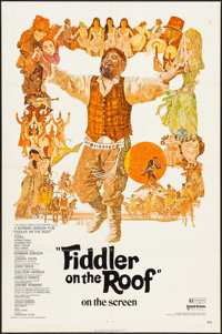 """Fiddler on the Roof & Other Lot (United Artists, 1972). One Sheets (2) (27"""" X 41""""). Musical. ... (Total: 2..."""