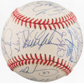 Baseball Collectibles:Balls, 1993 Chicago Cubs Team Signed Baseball (25 Signatures)....