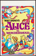 "Movie Posters:Animation, Alice in Wonderland (Buena Vista, R-1974). Window Card (14"" X 22""). Animation.. ..."