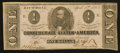 Confederate Notes:1863 Issues, T62 $1 1863 PF-10.. ...