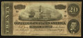 Confederate Notes:1864 Issues, T67 $20 1864 PF-4 Cr. 506.. ...
