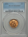 Lincoln Cents: , 1932 1C MS65 Red PCGS. PCGS Population (761/500). NGC Census: (240/197). Mintage: 9,062,000. Numismedia Wsl. Price for prob...