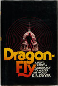 Books:Mystery & Detective Fiction, K. R. Dwyer [pseudonym, Dean Koontz]. INSCRIBED. Dragonfly.New York: Random House, [1975]....